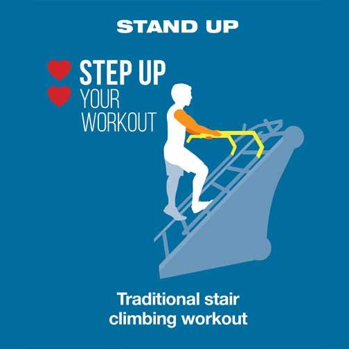 Jacob's Ladder X Climbing Machine