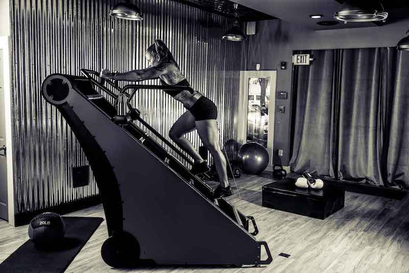 Jacobs Ladder Interval Training Workout