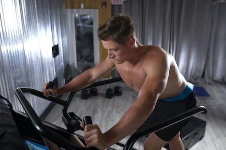 High Intensity Cardio Workout on Jacobs Ladder